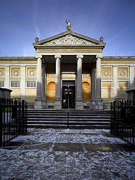 Ashmolean Museum of Art and Archaeology, Beaumont Street, Oxford, Oxfordshire, England, United Kingdom, Europe