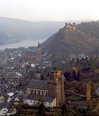 Oberwesel, Rheinland-Pfalz, Germany, Europe