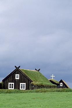Open air museum Arbaer, Arbaejarsafn, Reykjavik, Iceland, Polar Regions