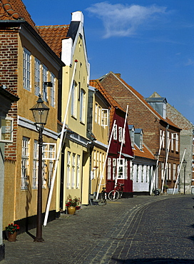 Old Town, Ribe, Jutland, Denmark, Scandinavia, Europe