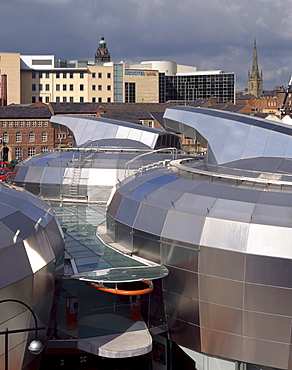 National Centre for Popular Music, architects Branson Coates, built in 1999, now closed, Sheffield, Yorkshire, England, United Kingdom, Europe