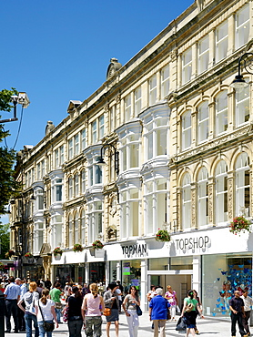 Peacocks Store, Queen Street, Cardiff, Wales, United Kingdom, Europe