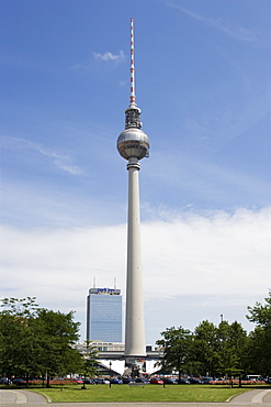Fernsehturm, Television Tower, Berlin, Germany, Europe