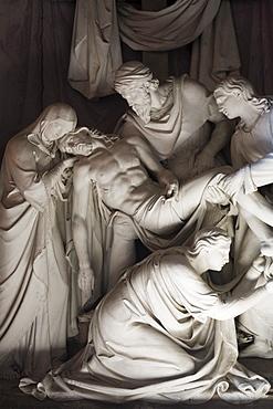 Deposition by Daniele da Volterra in a side chapel. Trinita dei Monti, Rome, Lazio, Italy, Europe