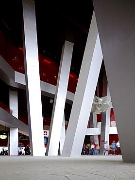 National Stadium, built for the 2008 Beijing Olympics, architects Herzog and de Meuron, Beijing, China, Asia