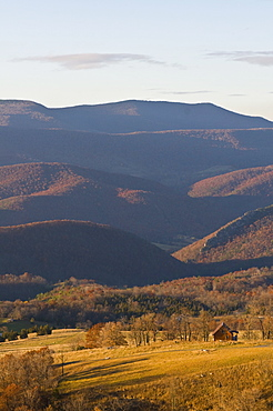 Beautiful foliage in the Indian summer, Allegheny Mountains, West Virginia, United States of America, North America