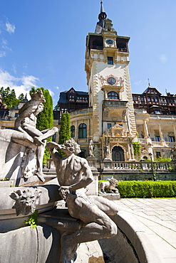 Peles Castle, Sinaia, Romania, Europe