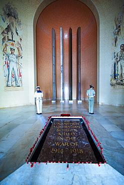 Guards at the Australian War Memorial, Canberra, Australian Capital Territory, Australia, Pacific