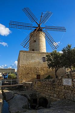 Xarolla Windmill, Zurrieq, Malta, Europe