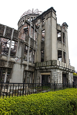 Atomic Bomb Dome (Genbaku Dome), Hiroshima Peace Memorial, UNESCO World Heritage Site, Hiroshima, Japan, Asia