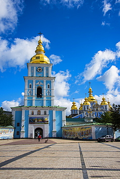 St. Michael's gold-domed cathedral, Kiev, Ukraine, Europe