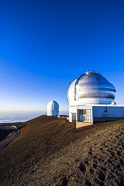 Observatory on Mauna Kea, Big Island, Hawaii, United States of America, Pacific