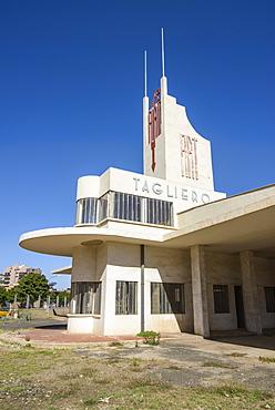 Fiat Tagliero Building, Asmara, capital of Eritrea, Africa