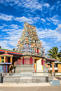 Sri Siva Subramaniya Hindu temple, Nadi, Viti Levu, Fiji, Pacific