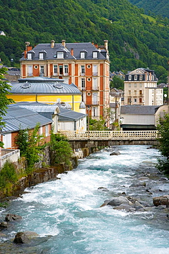 Spas, Cauterets, Aspe valley, French Pyrenees, France.