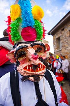 Carnival, Almiruete, Tamajon, Guadalajara province, Castilla-La Mancha, Spain