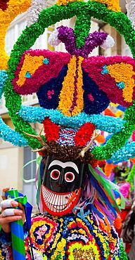 Espana, Galicia, Ourense (Orense), Viana do Bolo, Carnaval, Boteiros.