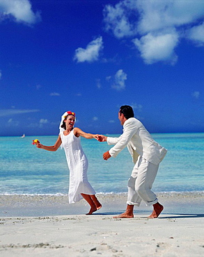 Just married in the Caribbean