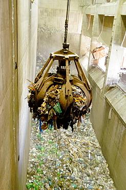 Palma de Mallorca waste recycling plant, Majorca, Balearic Islands, Spain