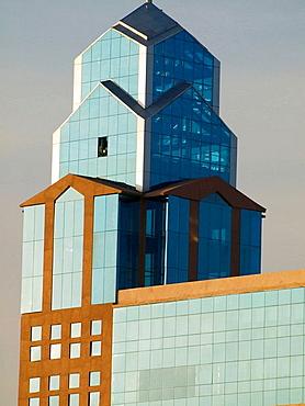 Modern buildings in Bangalore, Karnataka, India