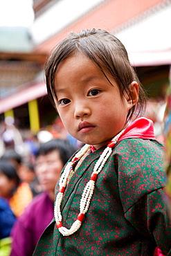 Little girl, Thimphu, Bhutan