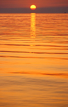 Sunset, Trieste, Italy