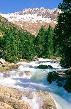 Saint Nicolas river in the Aiguestortes National Park (Pyrenees), Lleida province, Catalonia, Spain