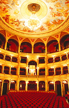 Interior of State Opera House, Budapest, Hungary