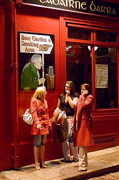 The Temple Bar pub, Temple Bar, Dublin, Ireland