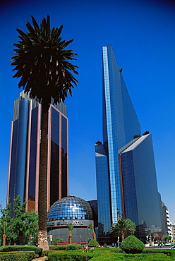Mexican Stock Exchange building, Mexico city, Mexico