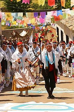 Fiesta de los Pecados y Danzantes (festival of sins and dancers), Camunas, Toledo province, Spain