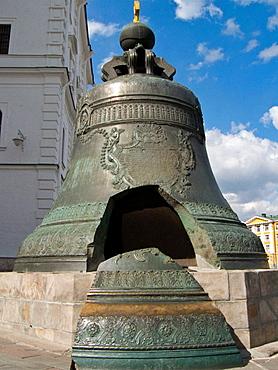 Tsar Bell, Kremlin, Moscow, Russian Federation