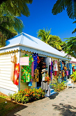 A tourist gift shop in Road Town, Tortola, British Virgin Islands, 2008