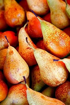 Pears, Ballaro Market, Palermo, sicily