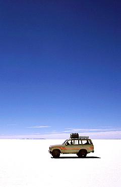 4WD Tour in the Salt desert, Salar de Uyuni, Bolivia