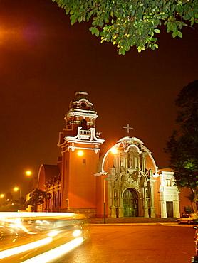 Ermita de la Santa Cruz, Barranco, Lima, Peru