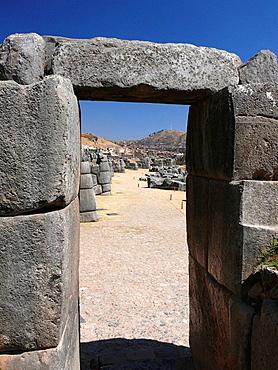 Sacsayhuaman, archaeological site near Cusco, Peru