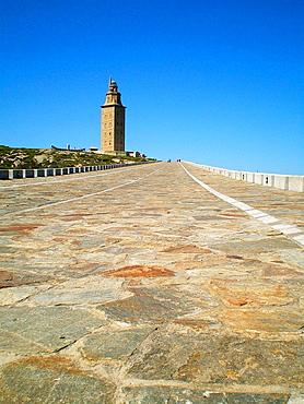 Hercules tower, A Coruna, Galicia, Spain