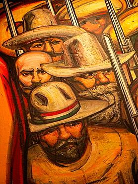 Castillo de Chapultepec Mural Paintings, Ciudad de Mexico - 817-135306