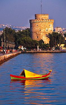 White Tower of Thessaloniki, Macedonia, Greece