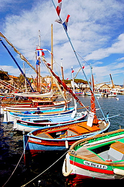 Boats in the port of St-Tropez, St-Tropez, France