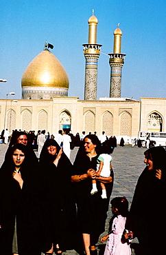 Imam al-Abbas Mosque, Karbala, the Shiite holy city, Iraq