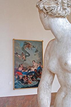 Musee des Beaux Arts, Place Stanislas, Nancy, Meurthe-et-Moselle, Lorraine, France