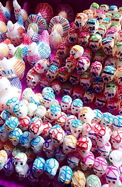 Sugar heads, Dia de los muertos (Day of the Dead), Mexico