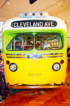 Rosa Parks Bus, Henry Ford Museum, Greenfield Village, Dearborn, Michigan, USA