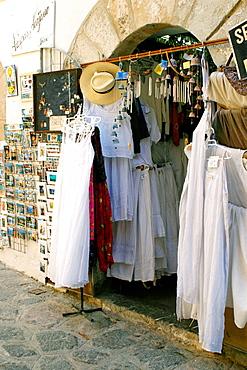 Shop in Dalt Vila district, Ibiza, Balearic Islands, Spain