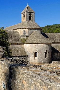 Notre-Dame de Senanque Cistercian abbey, Gordes, Vaucluse, Provence-Alpes-Cote d'Azur, France