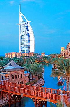 Burj Al Arab luxury hotel, Dubai, United Arab Emirates