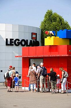 Legoland park, Billund, Denmark