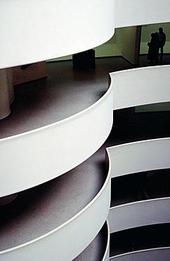 Guggenheim Museum by Frank Lloyd Wright, New York City, USA
